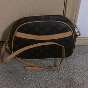 The Louis Vuitton purse
